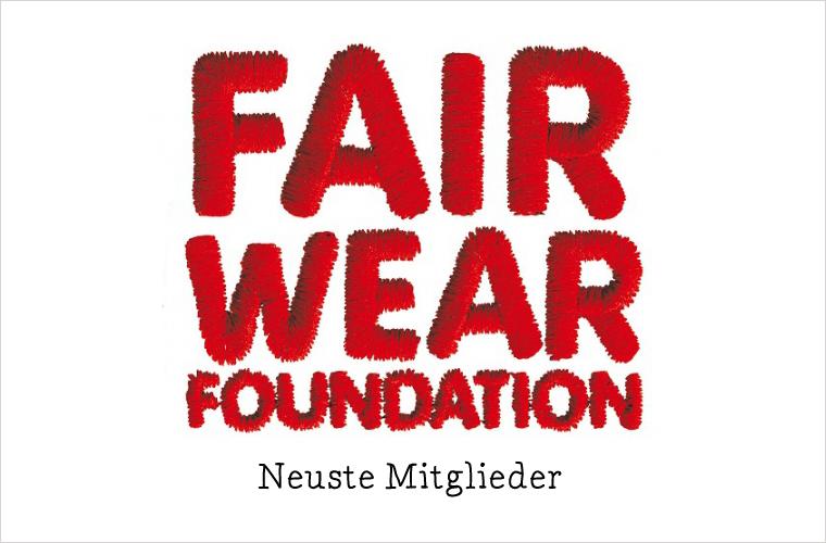 Neue Mitglieder der Fair Wear Foundation