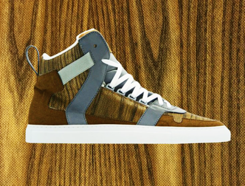 Nat-2 bringt Sneakers aus Holz auf den Markt