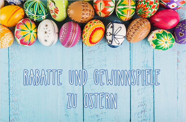 Rabatte und Gewinnspiele zu Ostern
