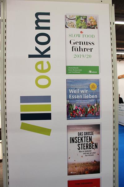 Nachhaltiges auf der Frankfurter Buchmesse: oekom Verlag